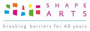 Shape Arts 40 years logo-final